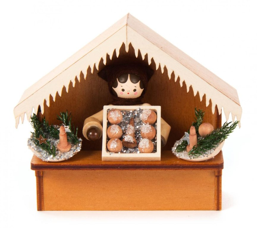 Romy Thiel Winterkinder, Marktbude Christbaumschmuck