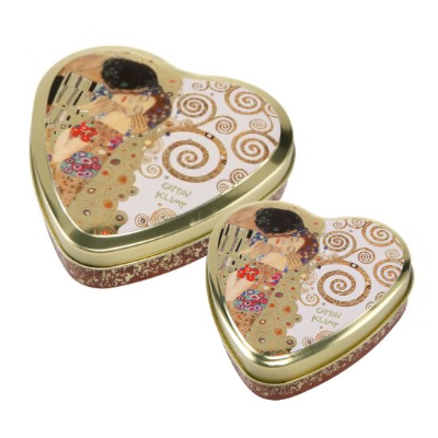 Goebel Heart Kiss - Herzdosen 2er Set